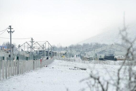 Kältehilfe für Geflüchtete an EU Außengrenze