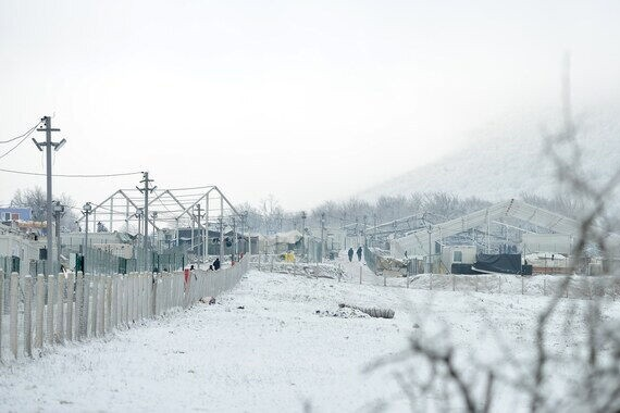 Cold aid for refugees at the EU external border