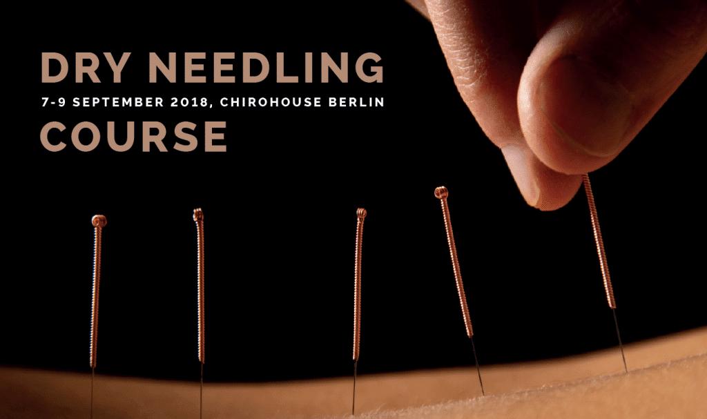 Dry Needling Kurs im Chirohouse Berlin
